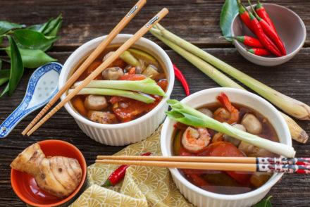11 ostra zupa krewetkowa