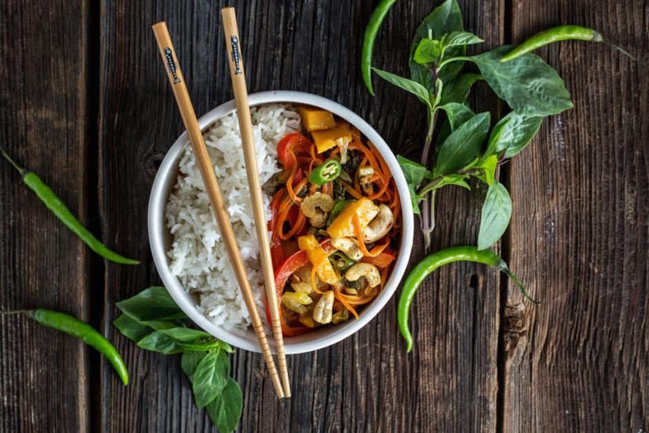 one more thai- wegański stir-fry po tajsku