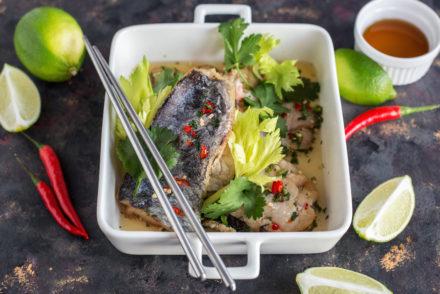 Ryba po tajsku z ostro - kwaśnym sosem one more thai- dodatkowy przepis