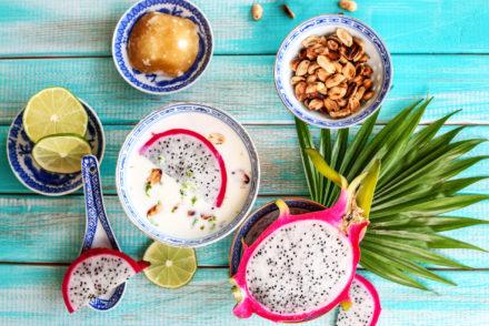 Owocowa zupa tajska