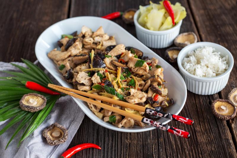 One More Thai - stir fry zkurczakiem